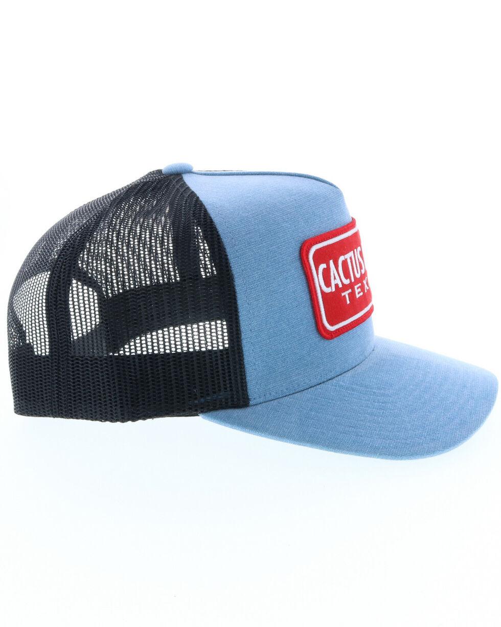 HOOey Men's Blue Cactus Ropes Trucker Cap, Blue, hi-res