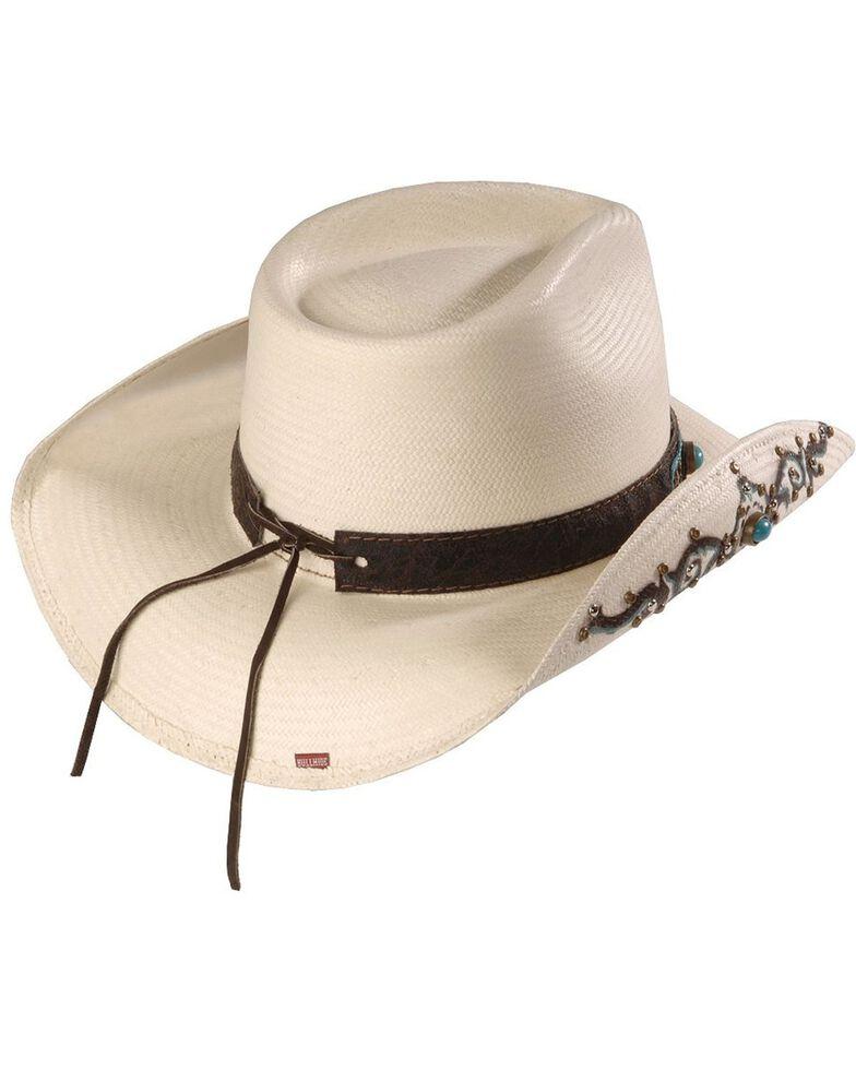 Bullhide Sweet Seduction Straw Cowgirl Hat, Natural, hi-res