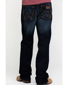 Wrangler Retro Men's Lavon Dark Stretch Relaxed Boot Jeans - Long , Indigo, hi-res