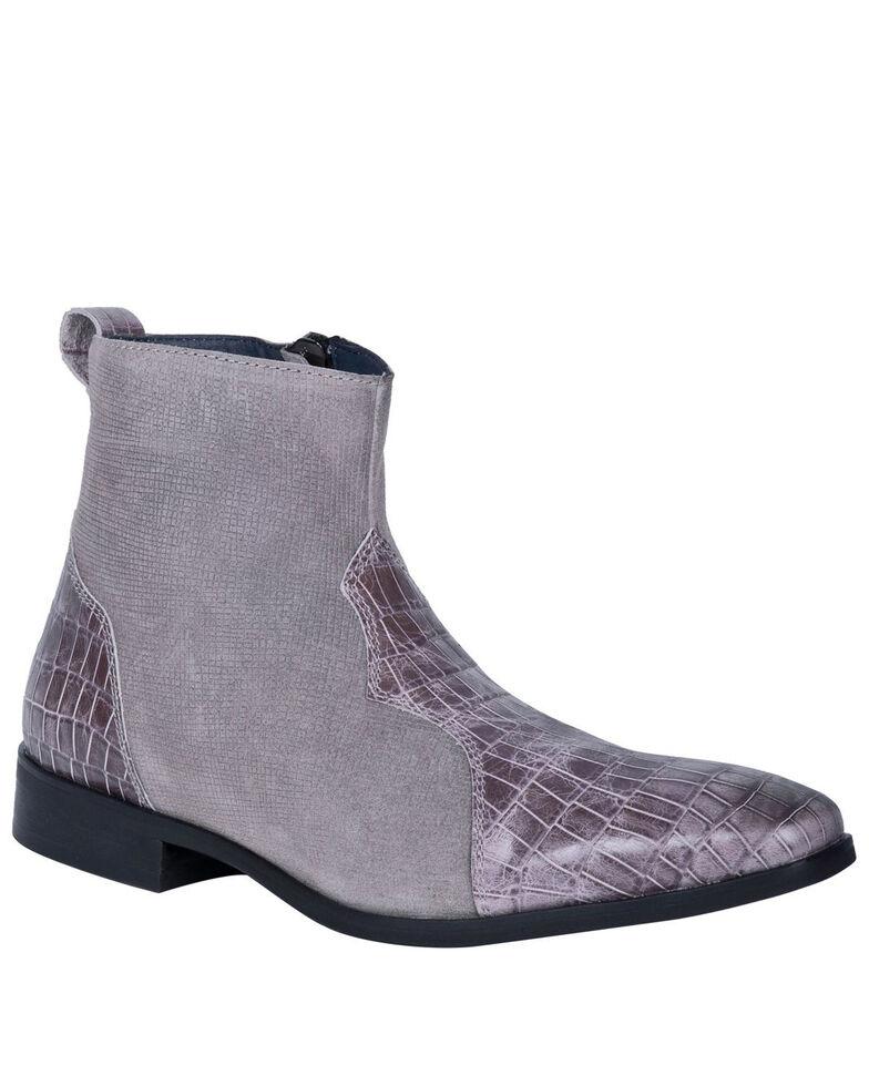 Dingo Men's Dunn Chukka Boots - Round Toe, Grey, hi-res