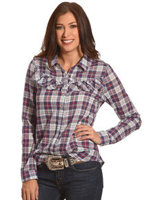 f102205538aab9 Women s White Crow Tops - Country Outfitter