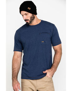 Ariat Men's Navy Rebar Workman Technician Graphic Work T-Shirt , Navy, hi-res