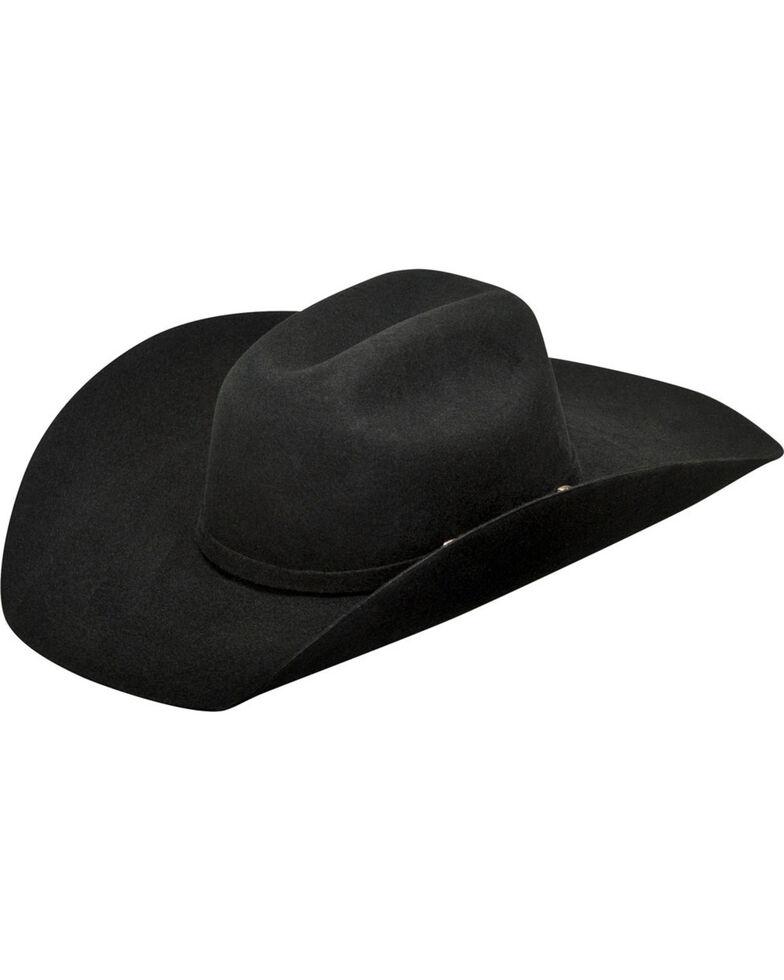 Ariat Boys' Wool Cowboy Hat , Black, hi-res