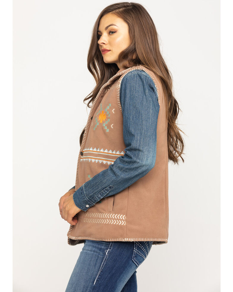 Outback Trading Co. Women's Santa Fe Jacket, Taupe, hi-res