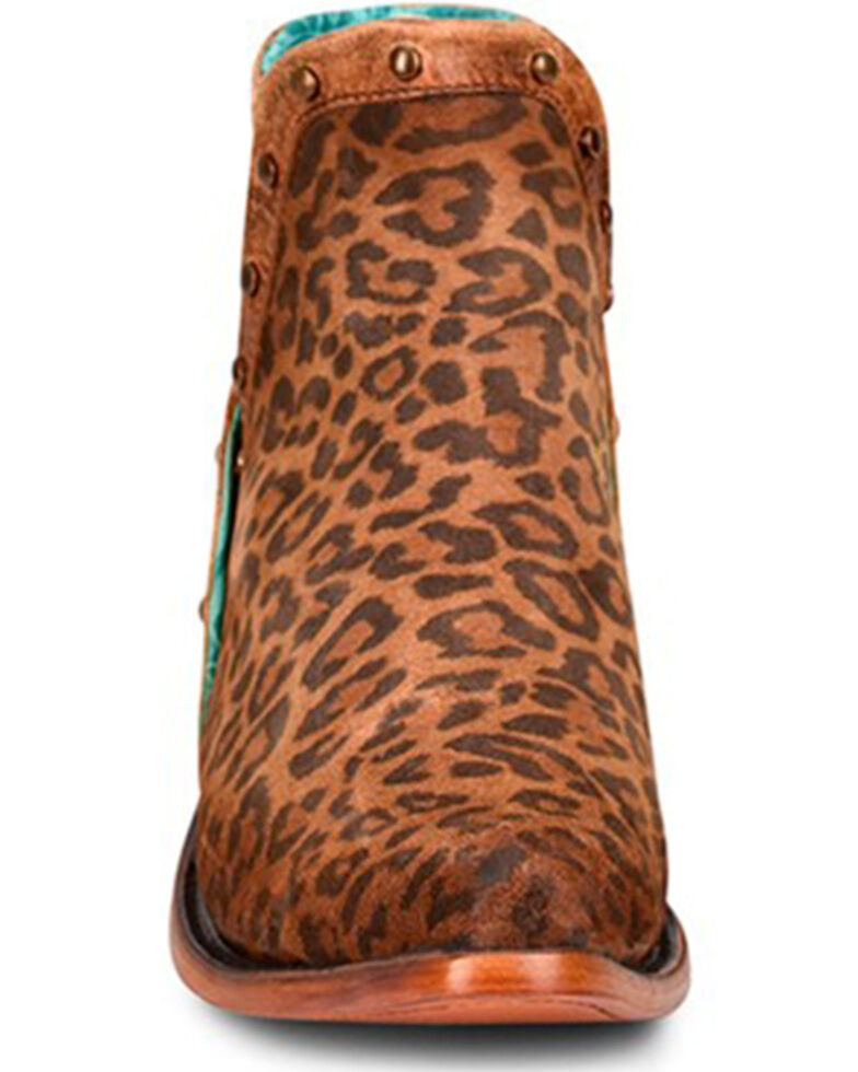 Corral Women's Leopard Print Fashion Booties - Snip Toe, Leopard, hi-res