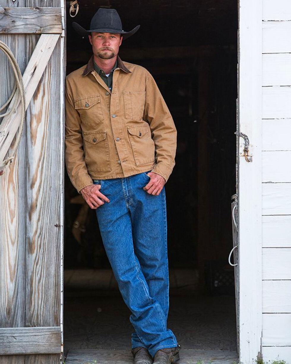 Schaefer Outfitter Men's Saddle Vintage Brush Jacket , Brown, hi-res