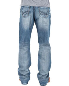 Tin Haul Men's Regular Joe Fit Light Wash Jeans - Boot Cut, Indigo, hi-res