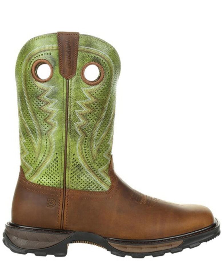 Durango Men's Maverick XP Western Work Boots - Soft Toe, Brown, hi-res