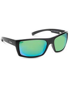 Hobie Men's Baja Satin Black & Copper PC Polarized Sunglasses , Black, hi-res