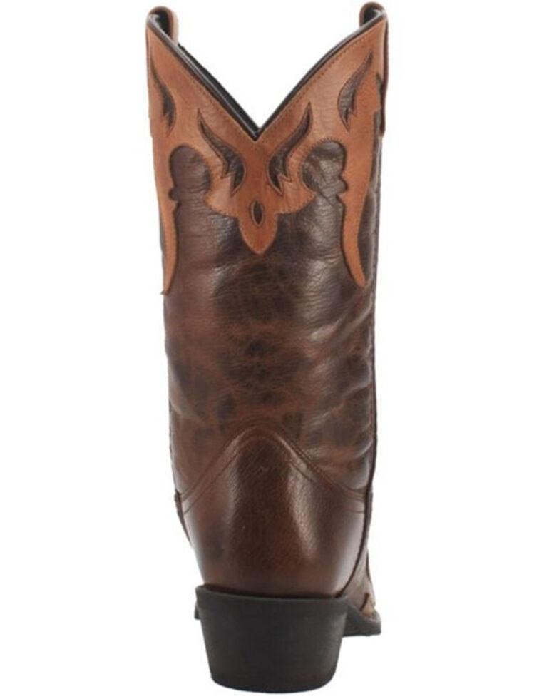 Laredo Men's Lyon Western Boots - Snip Toe, Brown, hi-res