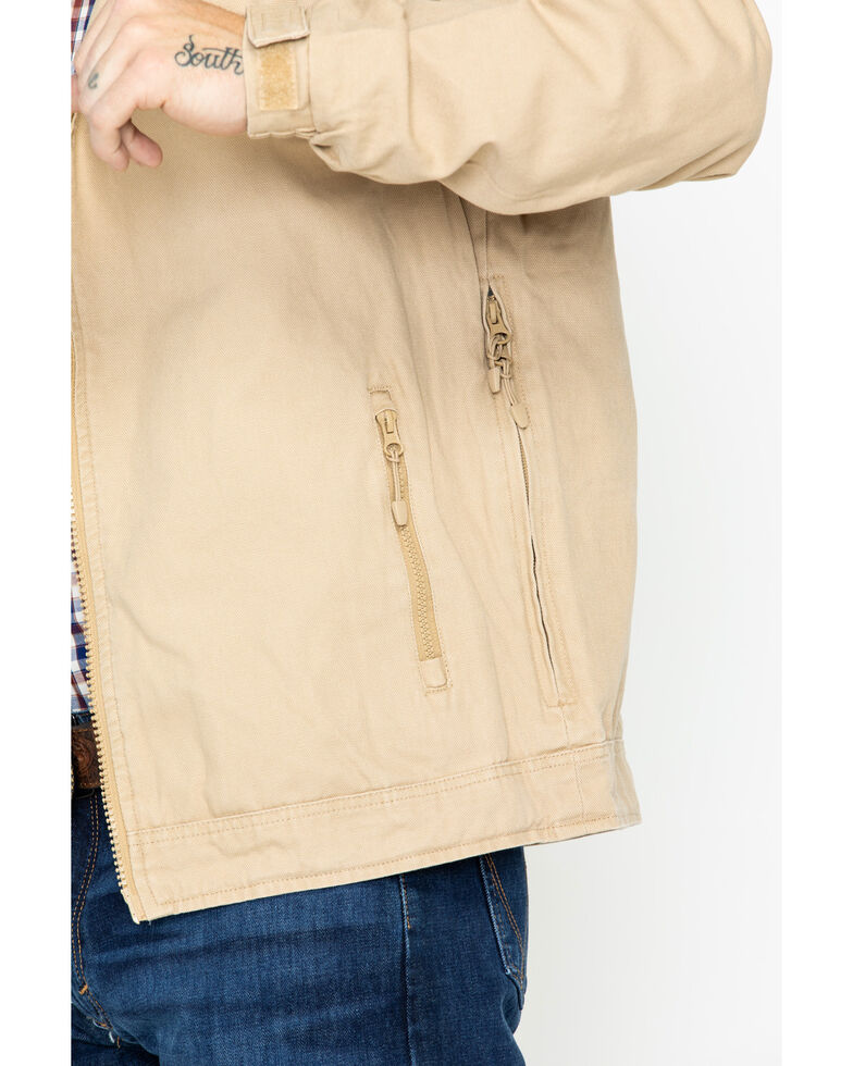 Resistol Men's Solid Open Range Jacket , Beige/khaki, hi-res
