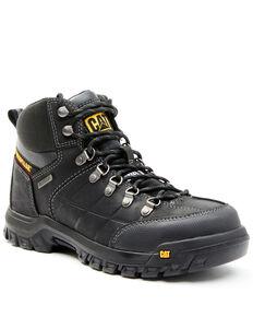 Caterpillar Men's Threshold Waterproof Work Boots - Steel Toe, Black, hi-res