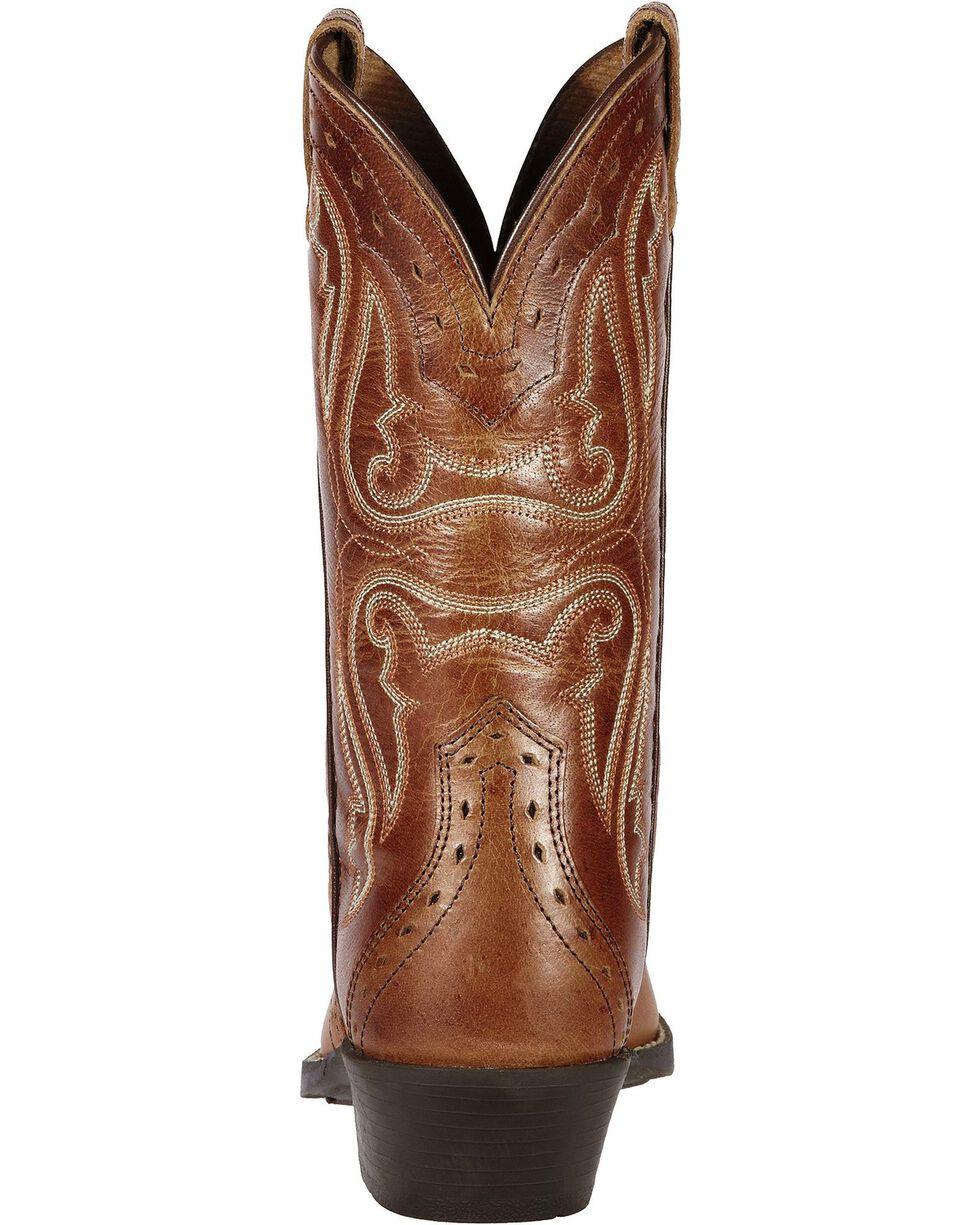 Ariat Youth Girls' Heritage Vintage Cedar Cowgirl Boots, Cedar, hi-res