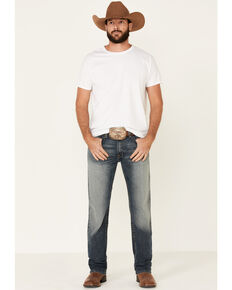 Ariat Men's M4 Kentucky Stockton Stretch Relaxed Straight Jeans , Blue, hi-res