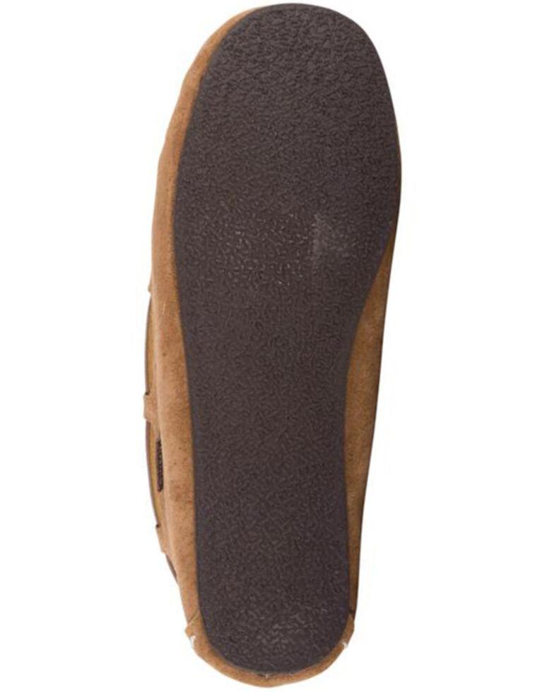 Lamo Footwear Women's Chestnut Sabrina II Wide Slippers - Moc Toe, Chestnut, hi-res