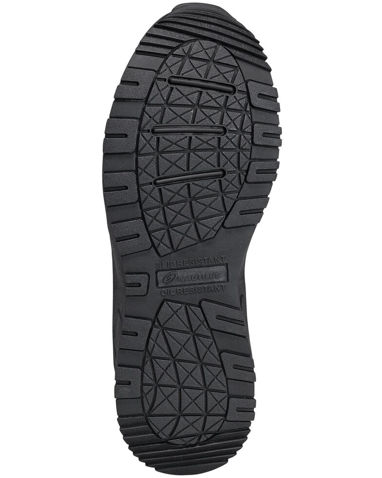 Nautilus Women's Composite Toe Oxford Work Shoes, Black, hi-res