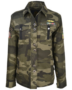 STS Ranchwear Women's Demi Camo Jacket , Camouflage, hi-res