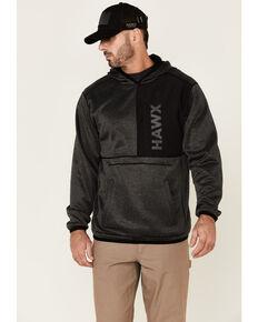 Hawx Men's Solano Reversible Thermal Fleece Lined Hooded Work Sweatshirt , Black, hi-res