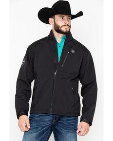 Ariat Men's Black Logo 2.0 Softshell Jacket - Big, Black, hi-res