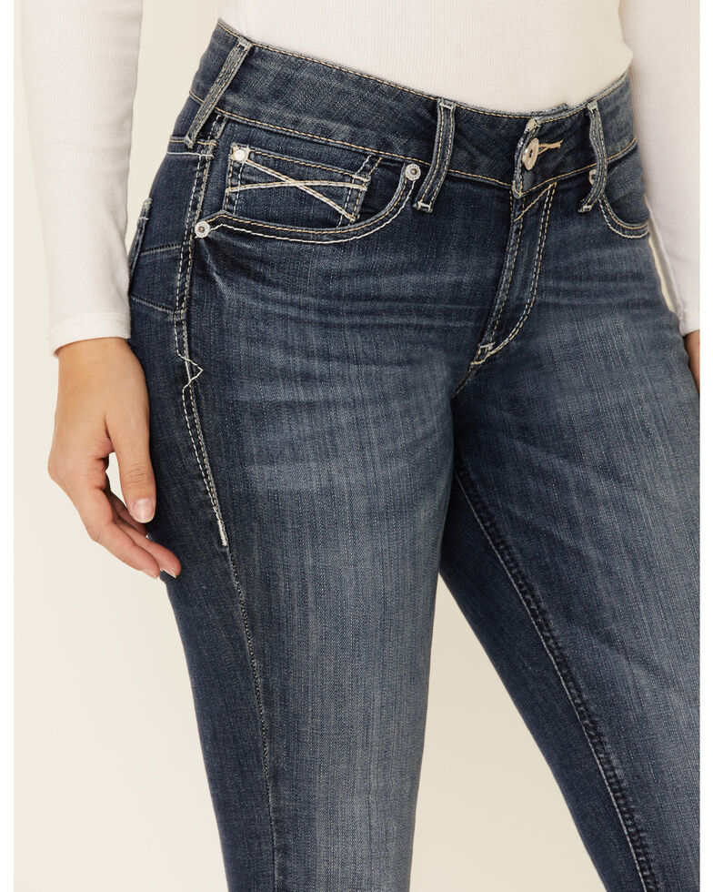 Ariat Women's Nancy Skinny Jeans, Blue, hi-res