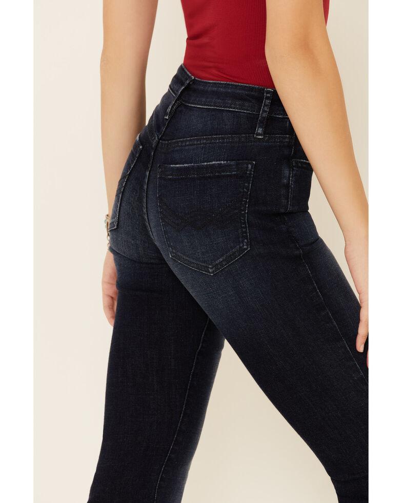 Idyllwind Women's Dusk High Risin' Flare Leg Jeans, Dark Blue, hi-res