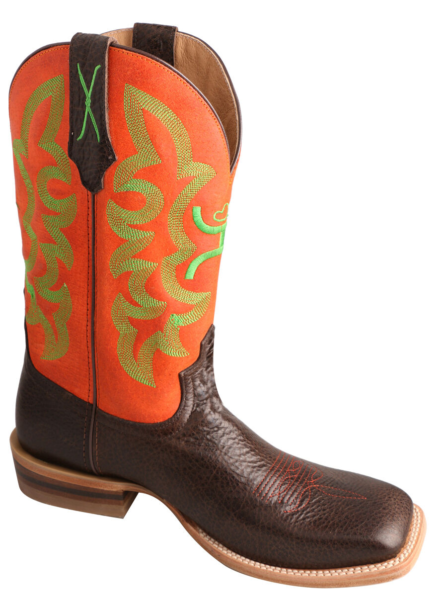 Neon Dresses with Cowboy Boots