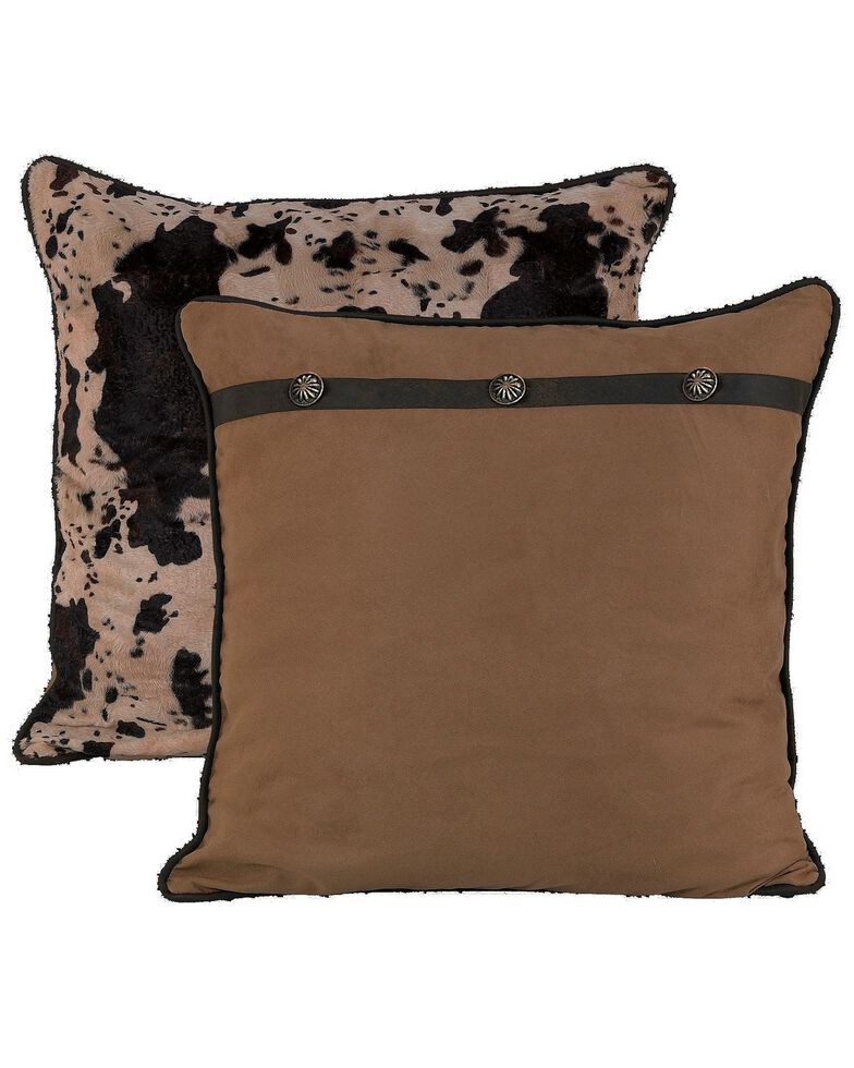 HiEnd Accents Western Reversible Euro Pillow Sham, Multi, hi-res