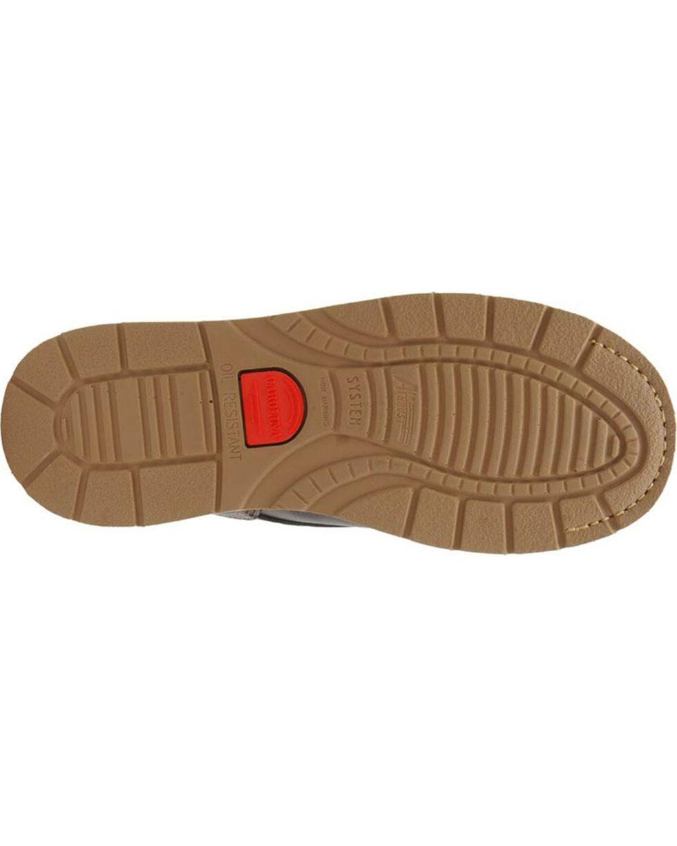 """Carolina Men's Dark Brown Amp Hi 8"""" Work Boots - Steel Toe , Dark Brown, hi-res"""