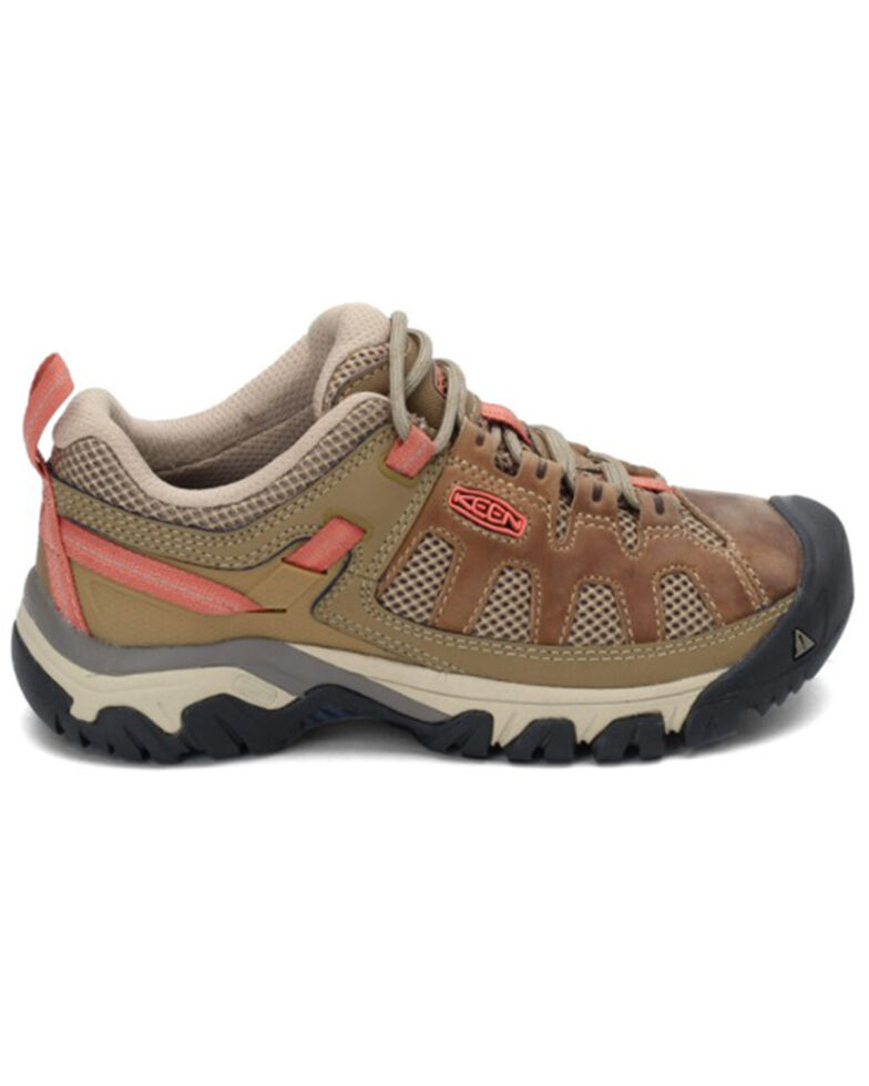 Keen Women's Targhee Vent Water Repellent Hiking Shoes - Soft Toe, Sand, hi-res