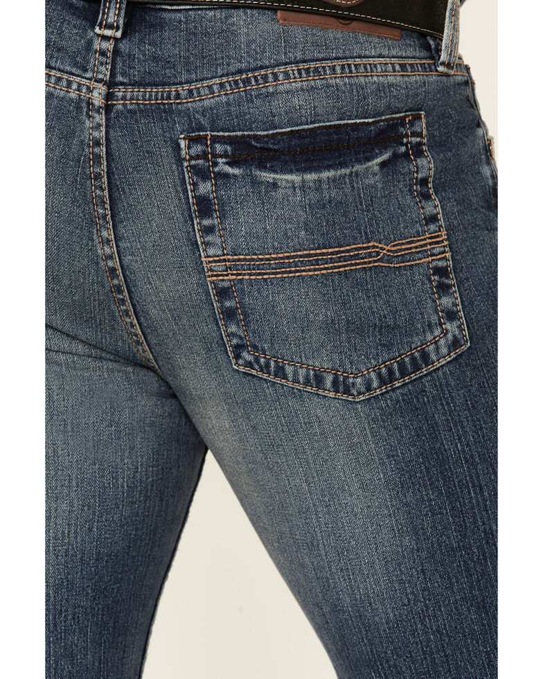 Cody James Men's Roan Medium Wash Stretch Slim Straight Jeans , Blue, hi-res