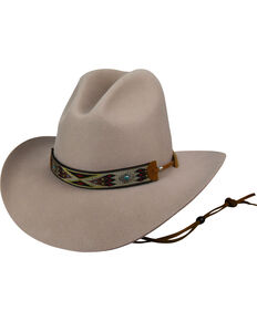 21752b4a520 Bailey Men s Beige Hickstead Slope Crease Hat