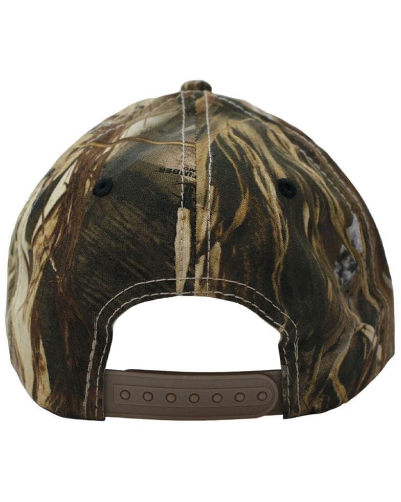 H Bar C Men's Truetimber Camo 3D Logo Embroidered Ball Cap , Camouflage, hi-res