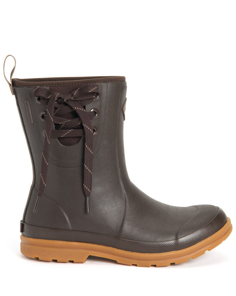 Muck Boots Women's Juliet Ankle Boots - Round Toe, Brown, hi-res