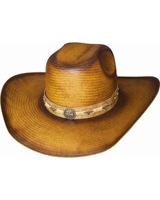 d9202262eed Bullhide Cattle Drive Straw Cowboy Hat