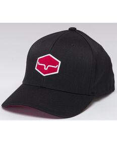 Kimes Ranch Men's Black Warwick Ball Cap , Black, hi-res