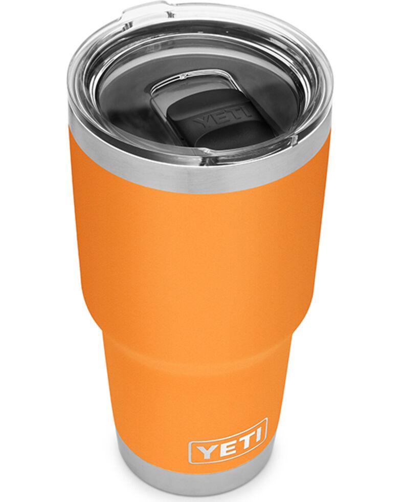 Yeti Rambler 30oz Tumbler Bottle, Orange, hi-res