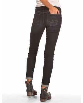 Silver Women's Elyse Skinny Jeans, Indigo, hi-res