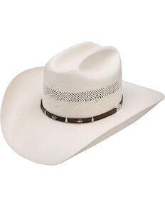 Resistol Men's Natural Mesa 10X Straw Cowboy Hat , Natural, hi-res