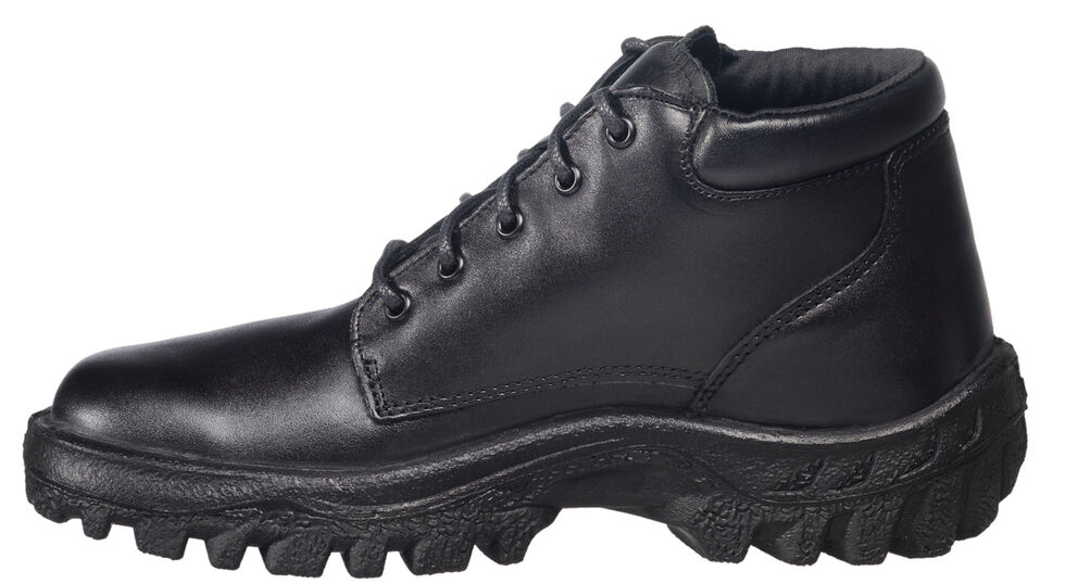 Rocky Women's TMC Chukka Duty Boots - USPS Approved, Black, hi-res