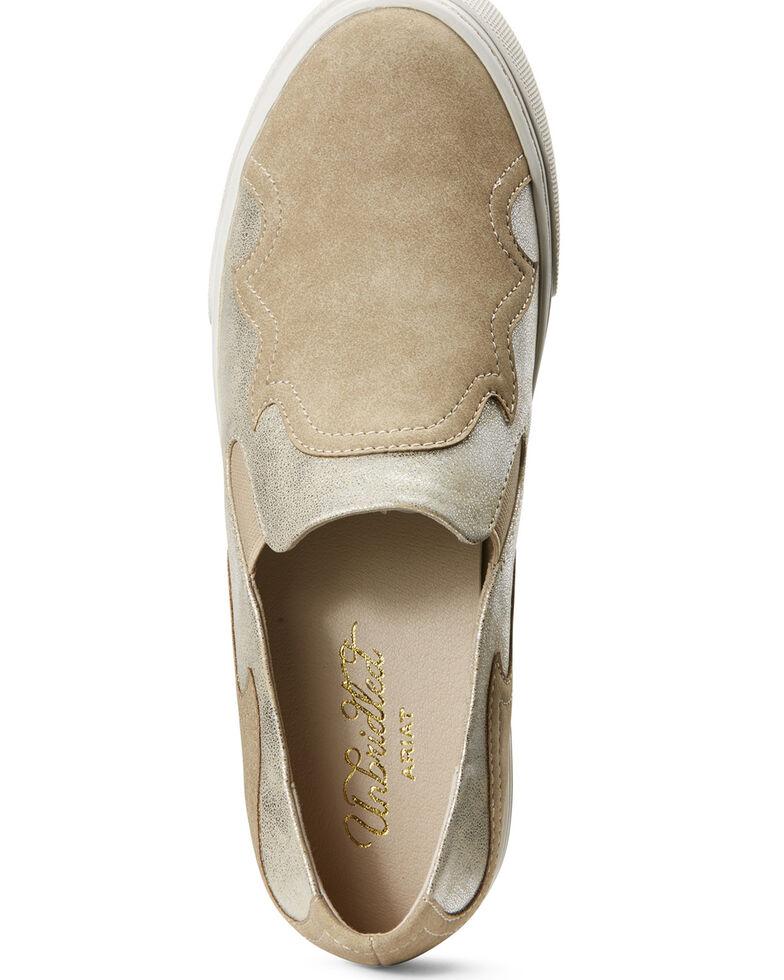 Ariat Women's Unbridled Gigi Slip-On Shoes, Tan, hi-res