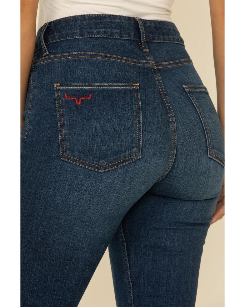 Kimes Ranch Women's Dark Wash Chloe Flare Bootcut Jeans , Blue, hi-res