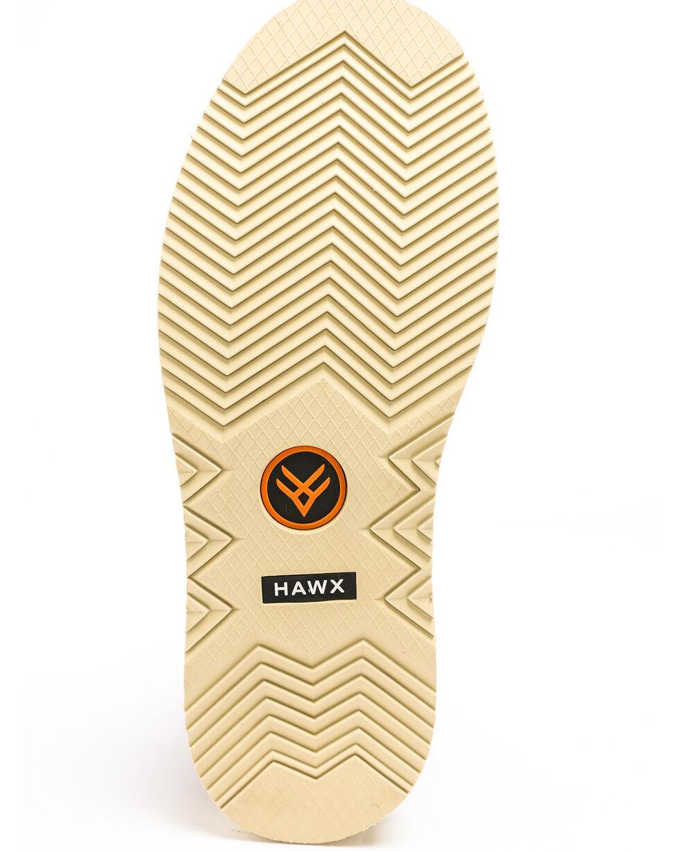 Hawx® Men's Grade Moc Wedge Work Boots - Moc Toe, Red, hi-res