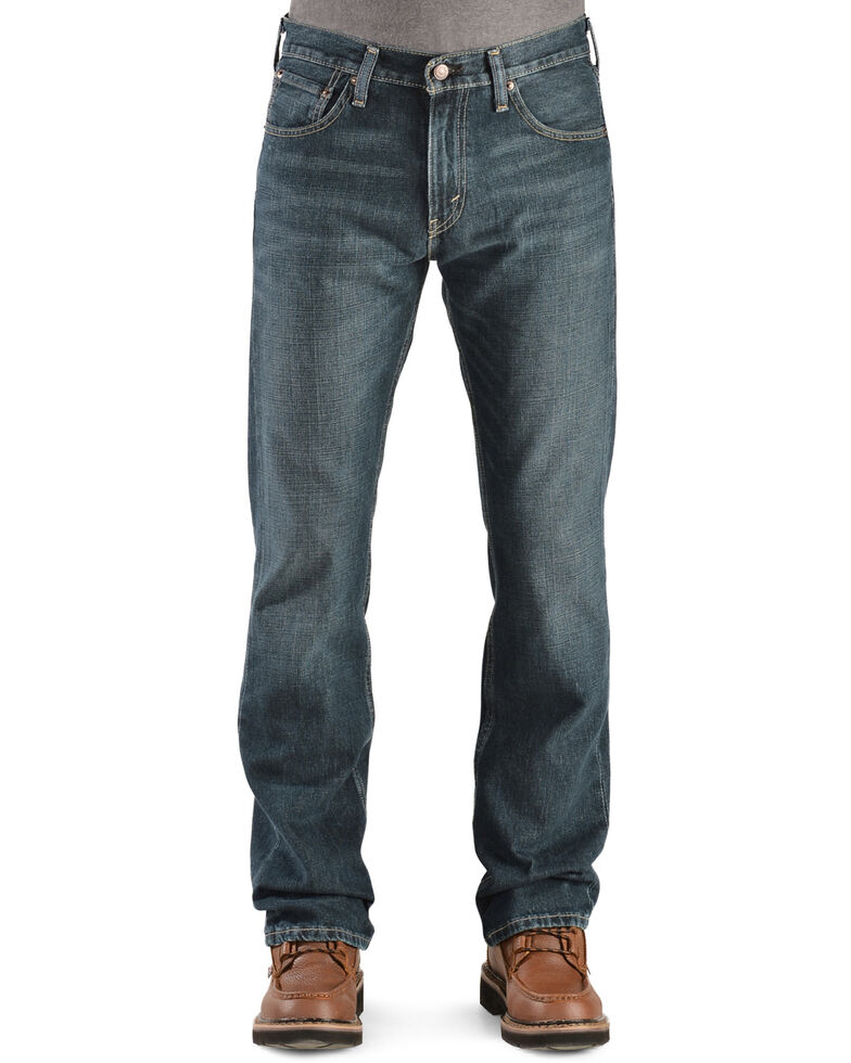 Levi's Men's 527 Prewashed Low Straight Boot Cut Jeans , Overhaul, hi-res