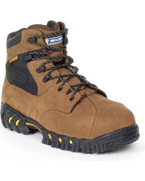 Michelin Men's Pilot Exalto Work Boots - Steel Toe, Brown, hi-res