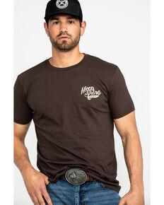 Moonshine Spirit Men's Snake Eyes Graphic T-Shirt , Brown, hi-res