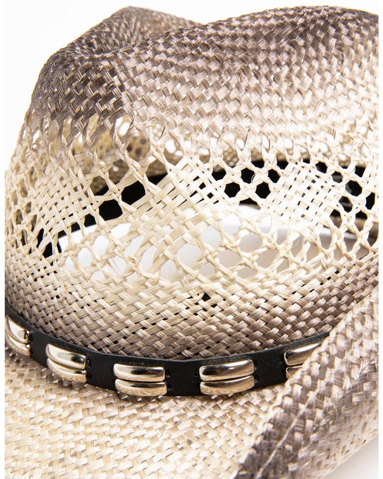 Cody James Men's Metal Hatband Cowboy Hat, Grey, hi-res