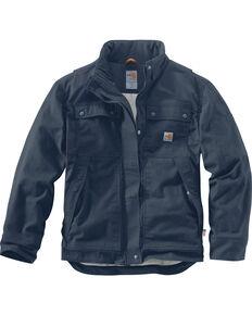 Carhartt Men's Flame-Resistant Full Swing Quick Duck Work Coat , Navy, hi-res