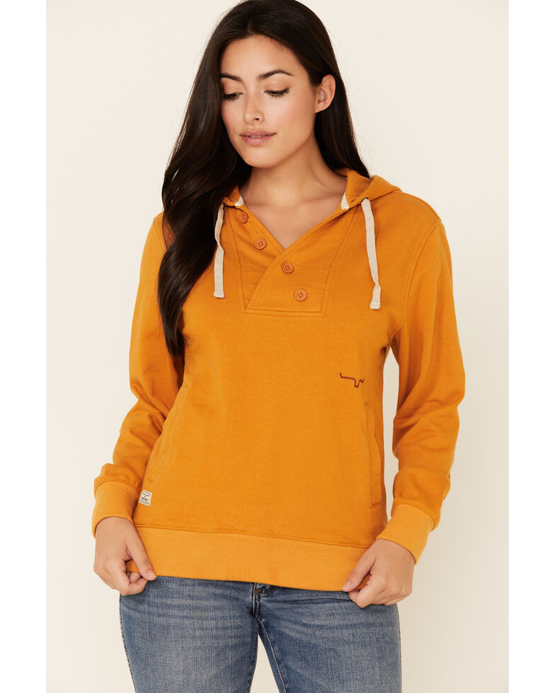 Kimes Ranch Women's Squash Private Idaho Hoodie, Light Orange, hi-res