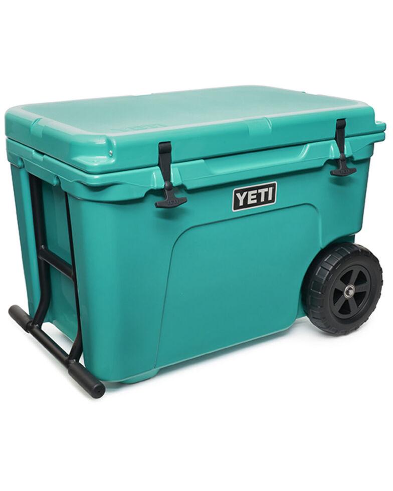 Yeti Tundra Haul Aquifer Blue Hard Cooler, Blue, hi-res