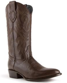 Ferrini Men's Black Jackson Western Boots - Round Toe, Black, hi-res